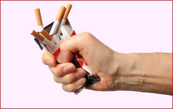 Los niños y el fumar su dependencia