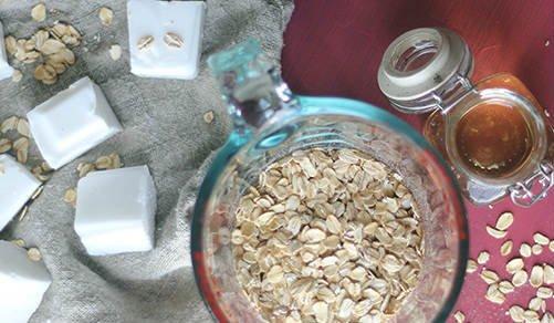 propiedades del jabón de avena