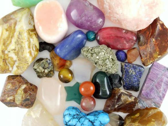 por qué las piedras son curativas