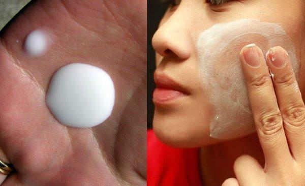 leche de magnesia para la piel y la cara