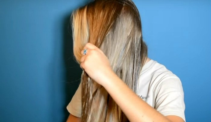el aceite de coco para crecer el cabello