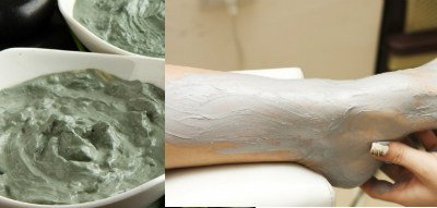 arcilla verde para eliminar celulitis
