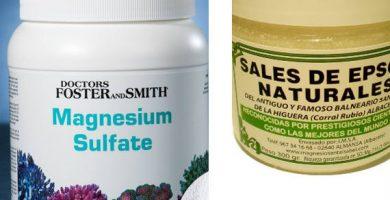 para que sirve el sulfato de magnesio