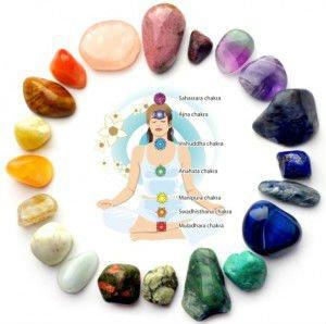 relación de los chakras con la cristaloterapia