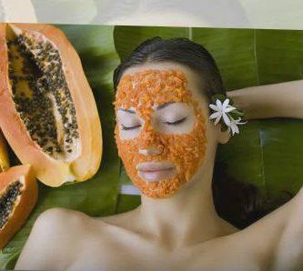 para que sirve la papaya en la cara