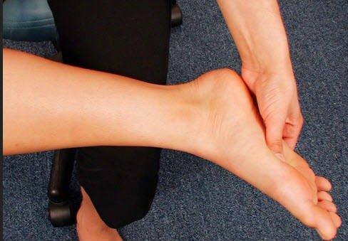 punto de reflexologia del pie para el dolor de espalda