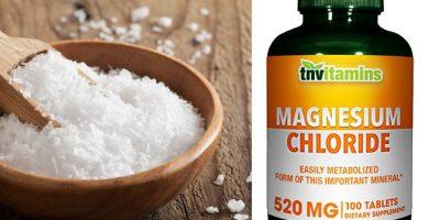para que sirve el cloruro de magnesio