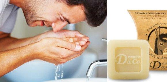 jabón de leche de burra para la cara