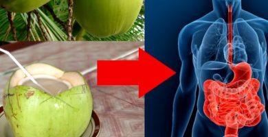 para qué sirve el agua de coco en ayunas