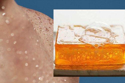 beneficios del jabón de glicerina en la piel y la cara