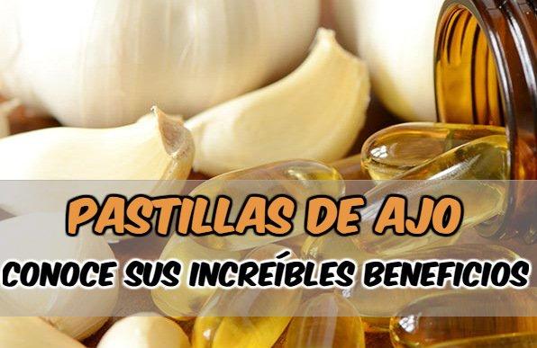 qué curan las las pastillas de ajo y para qué sirven