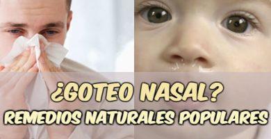 como parar el agua de la nariz