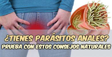 tengo parasitos en el ano remedios caseros