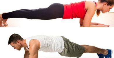 Beneficios de la plancha abdominal