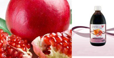 propiedades del jarabe de granada como uso medicinal