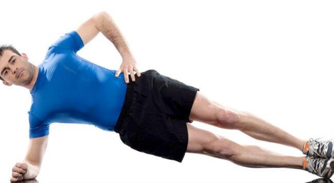 Beneficios de hacer plancha abdominal
