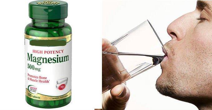 beneficios de tomar cápsulas de magnesio