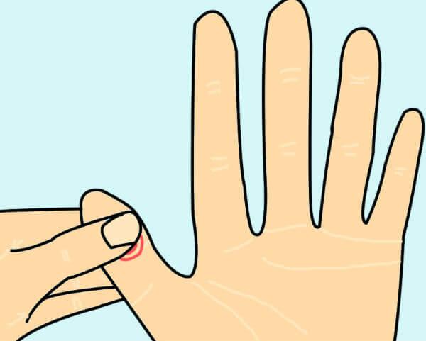Reflexología para aliviar los dolores