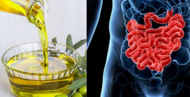 el aceite de oliva como purgante