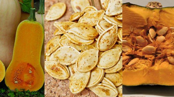 para que sirve comer semillas de auyama