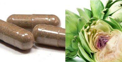 beneficios de las cápsulas de alcachofa